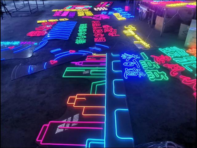 自贡LED迷你发光字制作厂商 诚信服务 成都卓成佳禾广告供应