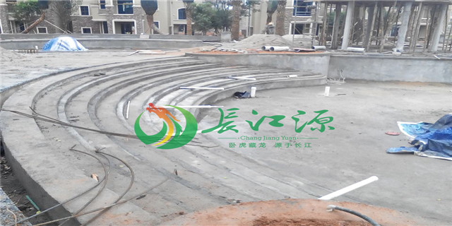 广西别墅泳池水净化工程方案 来电咨询 南宁长江源环境工程供应
