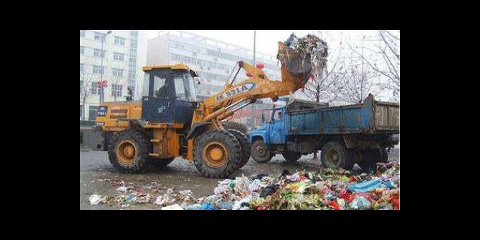黄浦区写字楼垃圾清运上门服务,垃圾清运