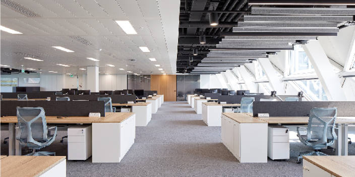 济南科技风办公室装修设计公司