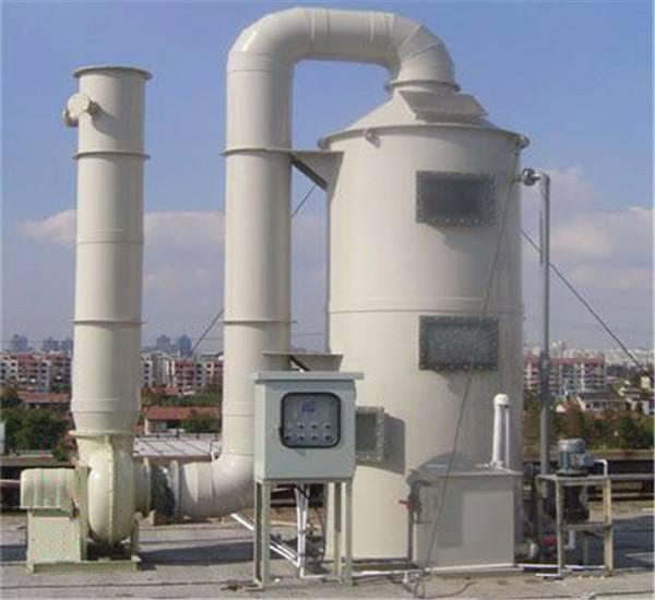 常见PP喷淋塔 净化塔 专业团队生产与制造  科技成熟