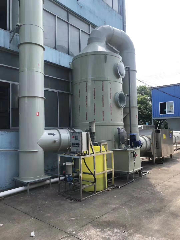 企业标准PP净化塔 除雾喷淋塔 现货直销 科技成熟 欢迎来电