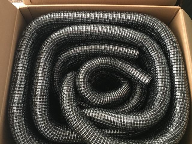 苏州螺旋钢丝加强蛇皮软管规格 富佰德供