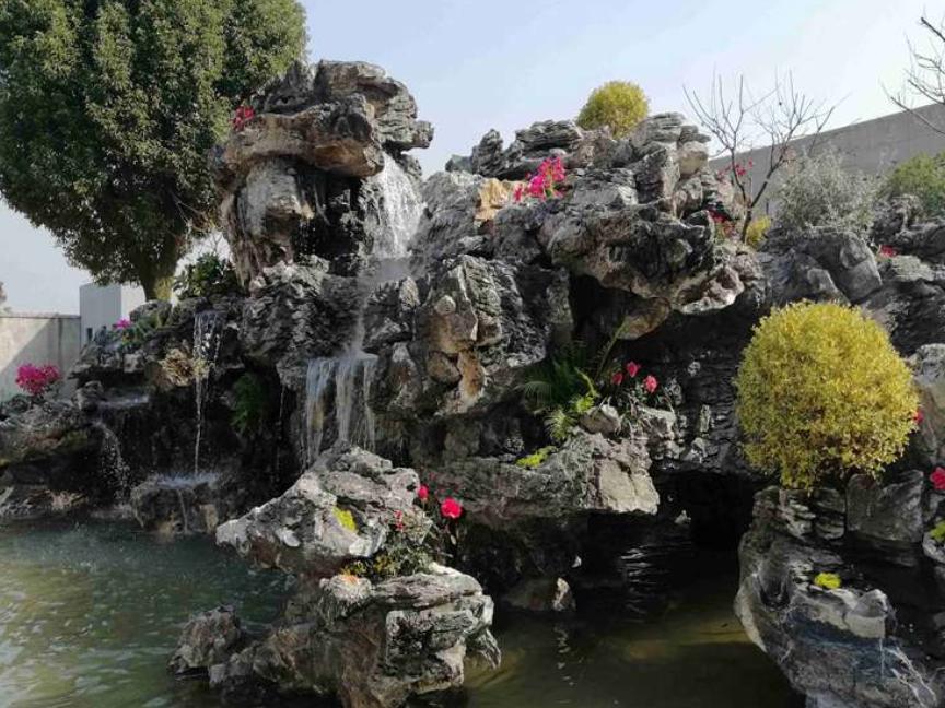 鄞州区假山鱼池哪家服务好 宁波唯景园林景观供应