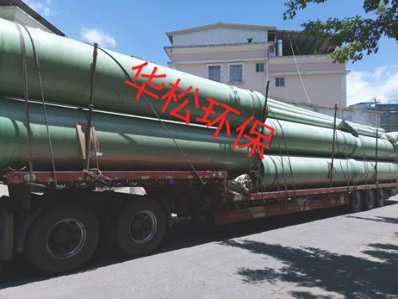 福州玻璃钢夹砂管道公司 来电咨询 福建省华松环保科技供应
