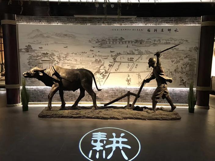 貴州紀念館場景復原 誠信經營「上海伏藝景觀藝術供應」