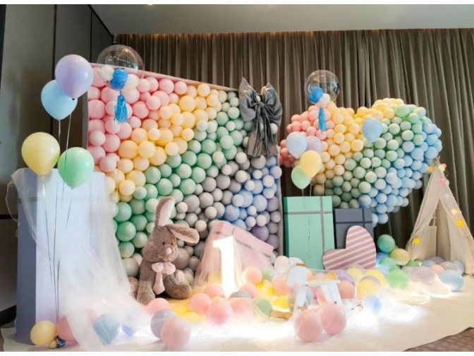 佛山婚庆气球学习价格 广州私人定制活动策划供应