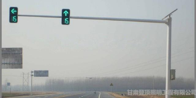 甘肃交通信号灯,灯