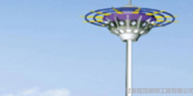 兰州标志杆厂家价格 甘肃登顶照明工程供应