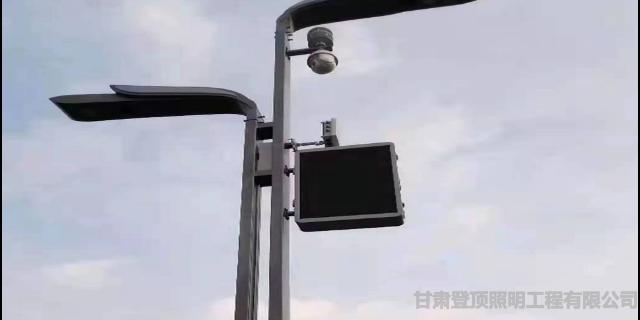 甘肃L型杆厂商 甘肃登顶照明工程供应