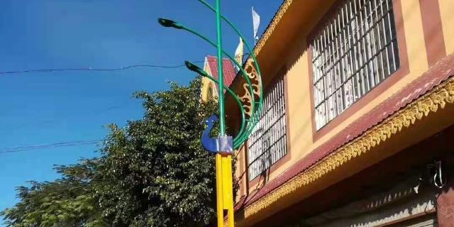 蘭州馬路太陽能路燈價位 甘肅登頂照明工程供應