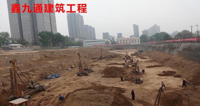 兰州鑫九通强夯工程报价费用,工程