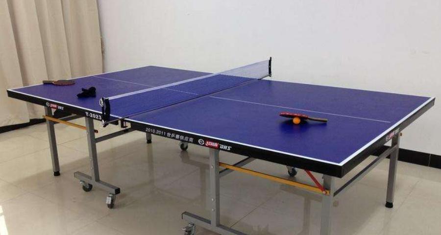 武山紅雙喜乒乓球臺銷售電話「甘肅湘南體育用品供應」