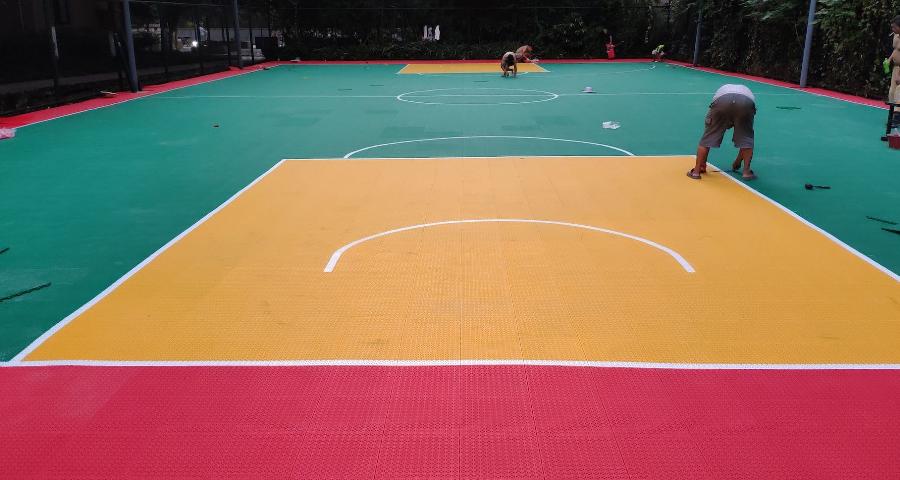积石山悬浮式拼装地板特价「甘肃湘南体育用品供应」