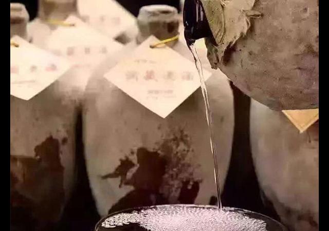 无锡特色的洞藏酒,洞藏酒