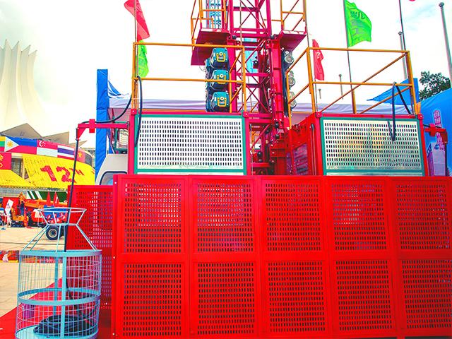 梧州经久耐用的施工升降机多少钱 来电咨询 广西工凯重工供应
