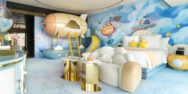 個性主題酒店裝修設計哪家好 真誠推薦 廣州愛翼酒店設計供應