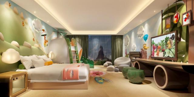 主題酒店裝修改造服務價錢 貼心服務「廣州愛翼酒店設計供應」
