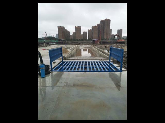 广州工地车辆洗车槽哪家便宜 广州环科环保设备供应