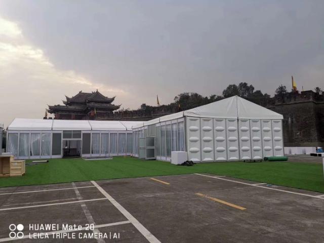 户外帐篷生产厂家 贴心服务「广州宏索制冷设备供应」