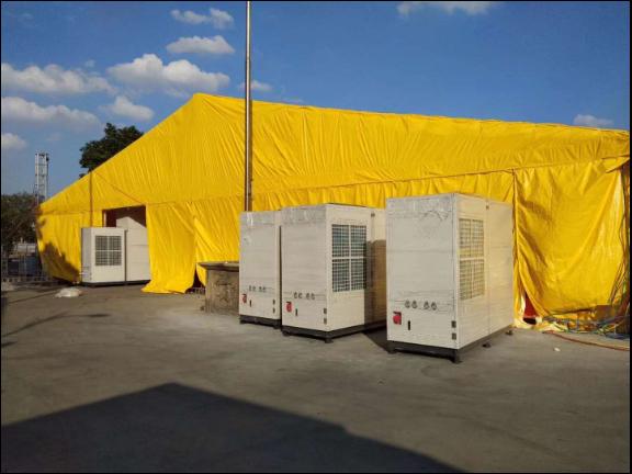 會展臨時空調出租電話 歡迎來電「廣州宏索制冷設備供應」