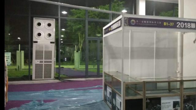四川校園空調出租 服務為先 廣州宏索制冷設備供應