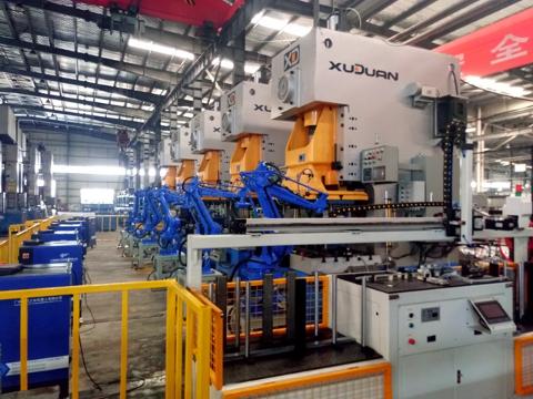 开封工业视觉机器人,冲压机器人