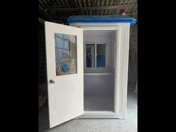 山东玻璃钢保安亭公司 贴心服务「建辉金属制品厂供应」