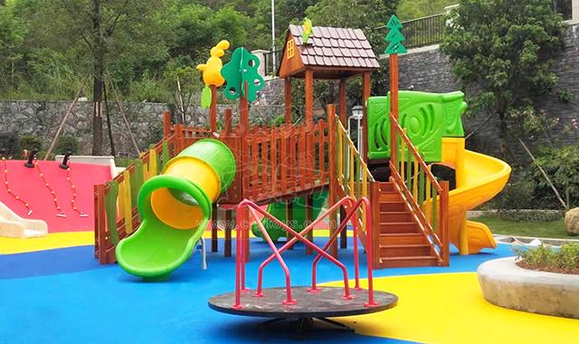 儿童室外组合滑梯采购,滑梯