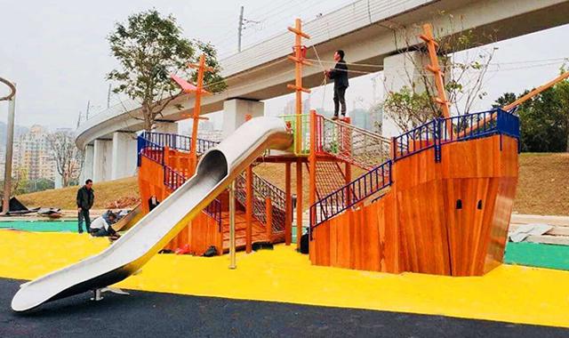 儿童滑梯设备生产商家 真诚推荐 广州市聪颖康体设备供应