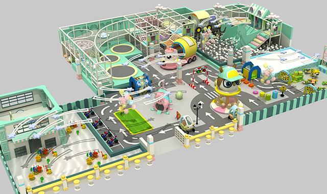 上海室内儿童乐园设施 信息推荐「广州市聪颖康体设备供应」