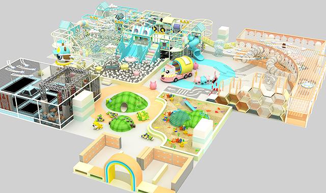 小区室内儿童乐园设备供应企业 欢迎咨询 广州市聪颖康体设备供应