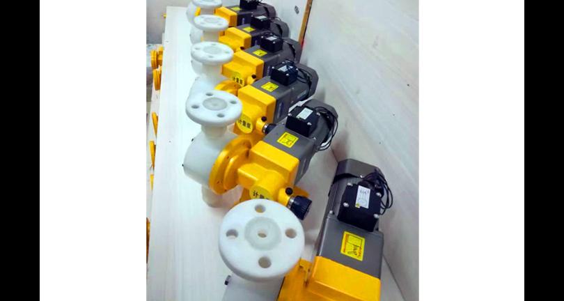 江苏电磁隔膜计量泵厂家批发 淮安市飞隆环保设备供应