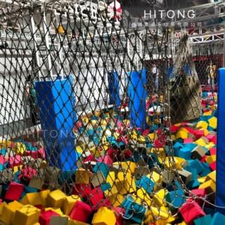 黑龙江超级大蹦床批发厂「温州嗨童游乐设备供应」