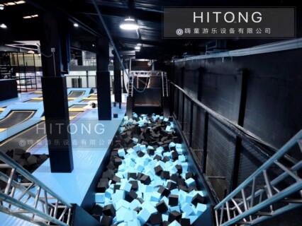 高精度超级大蹦床值得推荐「温州嗨童游乐设备供应」