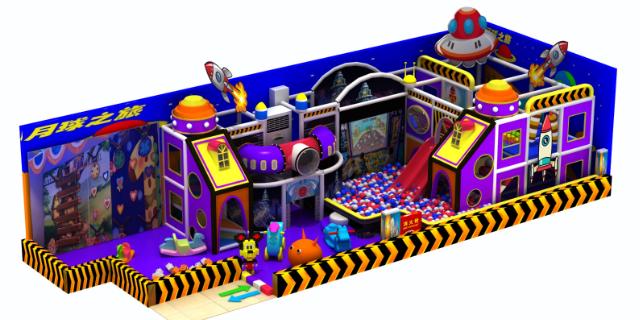 兒童室內淘氣堡哪家好「溫州嗨童游樂設備供應」