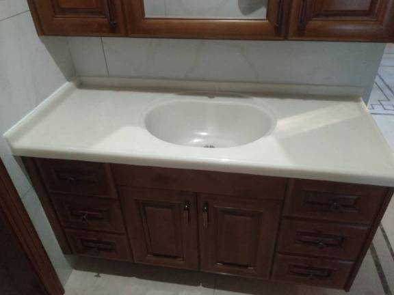 三明櫥柜一體成型洗菜池價格 誠信服務「廈門豪晶鑫石業供應」