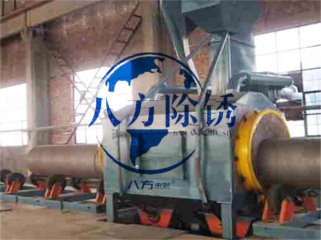 上海生銹鋼筋噴砂除銹,鋼筋