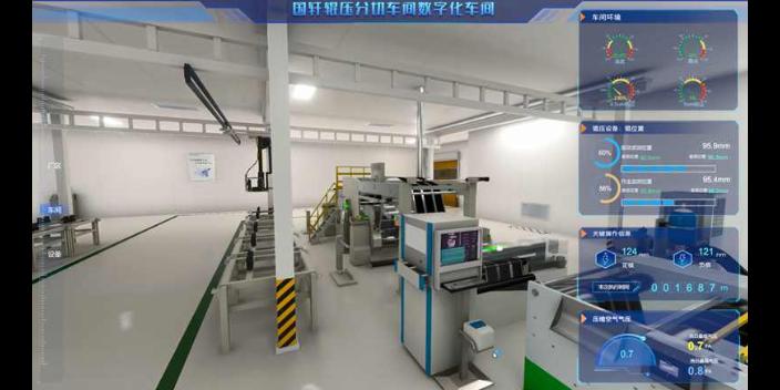 池州工業物聯網3D可視化「合肥榮方自動化科技供應」