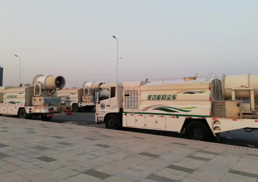 郑州租赁压尘车公司 值得信赖  河南绿友实业供应