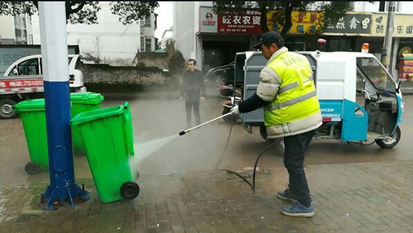 郑州小型高压冲洗车价格 值得信赖  河南绿友实业供应