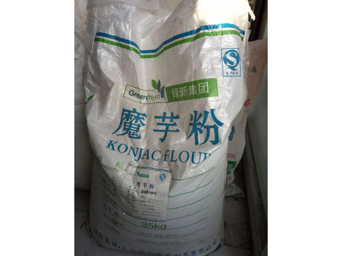 江苏食用级魔芋粉多少钱一斤 诚信经营 湖北福润德食品原料供应