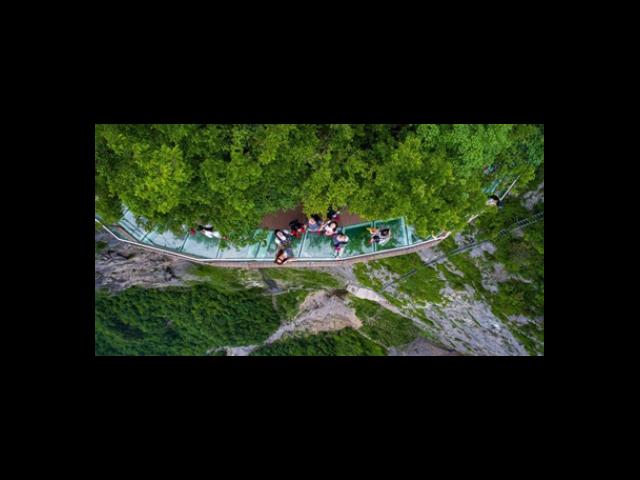 浙江高空玻璃吊桥设计 来电咨询 浙江辉弘旅游开发供应