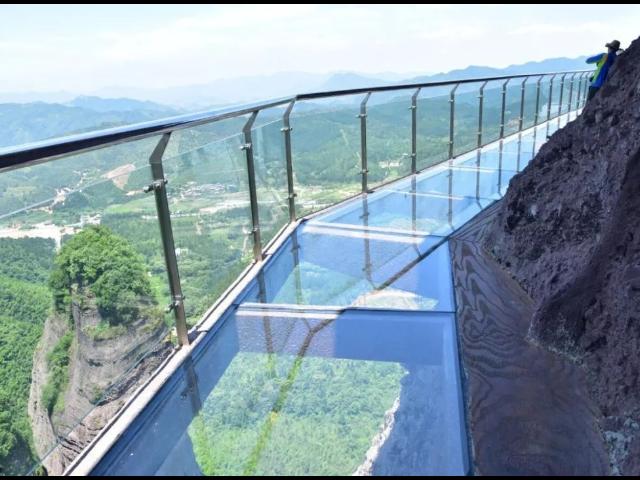 高空玻璃悬廊哪里有 服务至上 浙江辉弘旅游开发供应