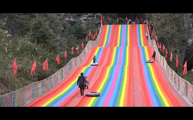 上海彩虹滑道一平米价格 和谐共赢 浙江辉弘旅游开发供应