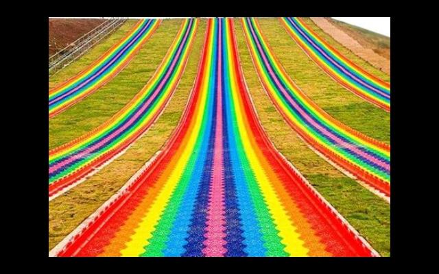 天津塑料彩虹滑道厂家,彩虹滑道
