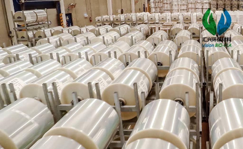 生物PLA膜工厂 广东汇兴环保材料供应