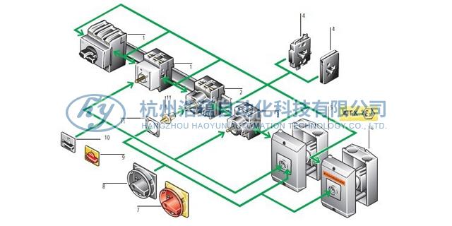 伊顿穆勒 100A 负荷隔离开关P3-100/IVS 有口皆碑 杭州浩蕴自动化科技供应