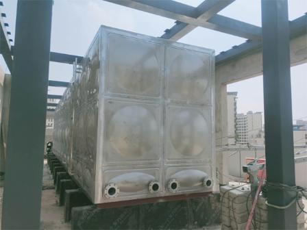 方形不锈钢水箱厂家供应 来电咨询 杭州珩宇供水设备供应