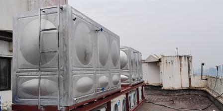 浙江定制方型不锈钢水箱 杭州珩宇供水设备供应